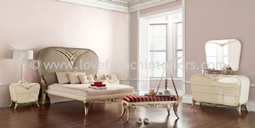 Spacium Bedroom Collection in Beige